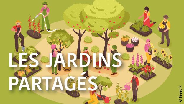 Illustrations Jardins partagés