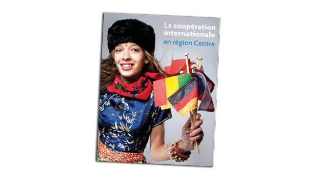 Couverture brochure sur la coopération internationale en région centre