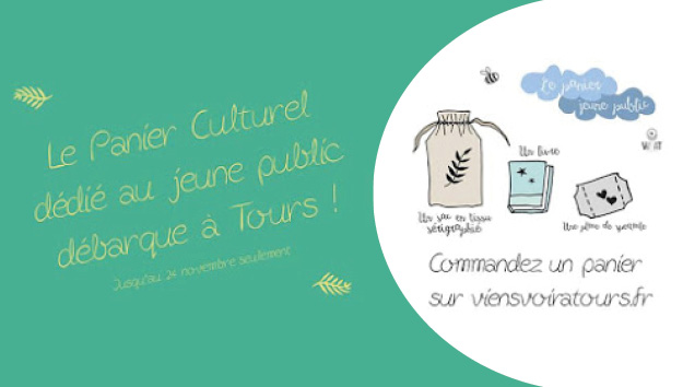Découvrez le panier culturel dédié au jeune public de Tours